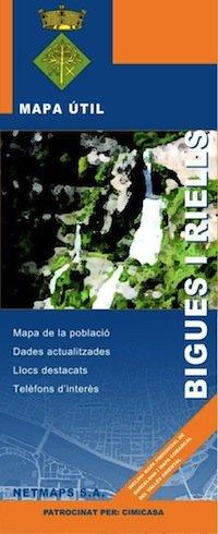 Mapa Bigues i Riells
