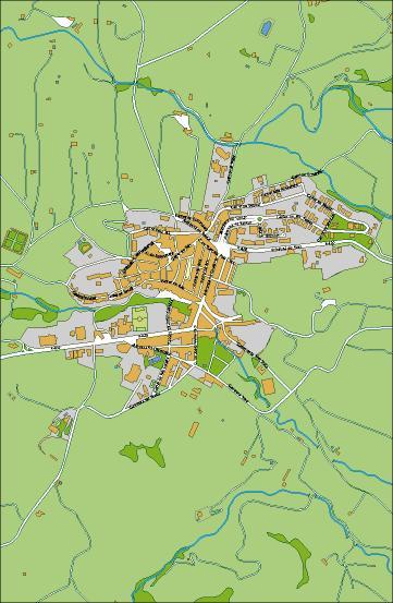 mapa Falset