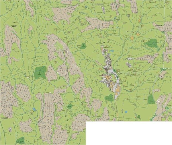 mapa Lliça d'Amunt