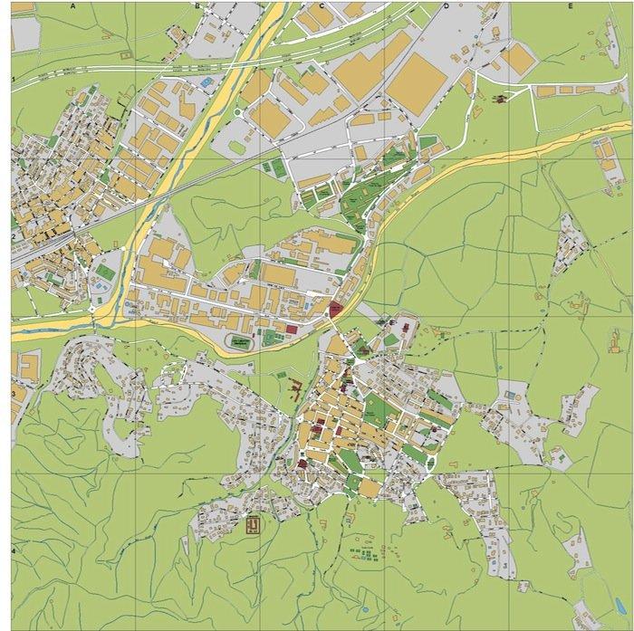 mapa Montornes del Valles
