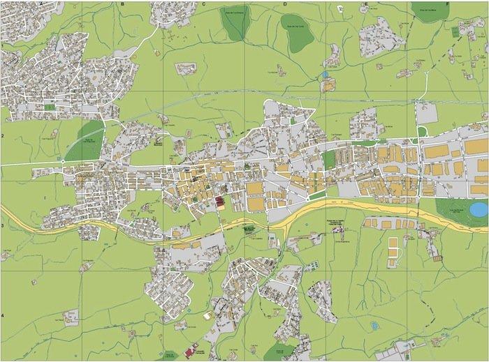 mapa Palau Solita i Plegamans
