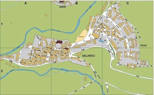 mapa Salardu