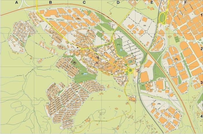 mapa Sant Quirze del Valles