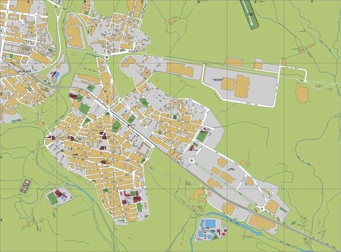mapa Vilanova del Cami