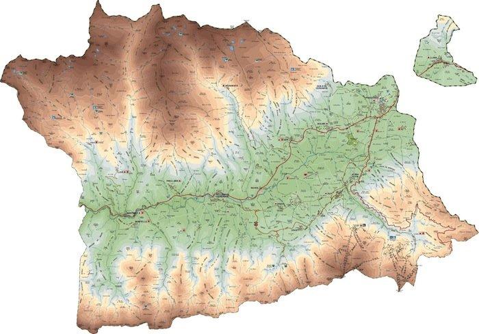 mapa cerdanya