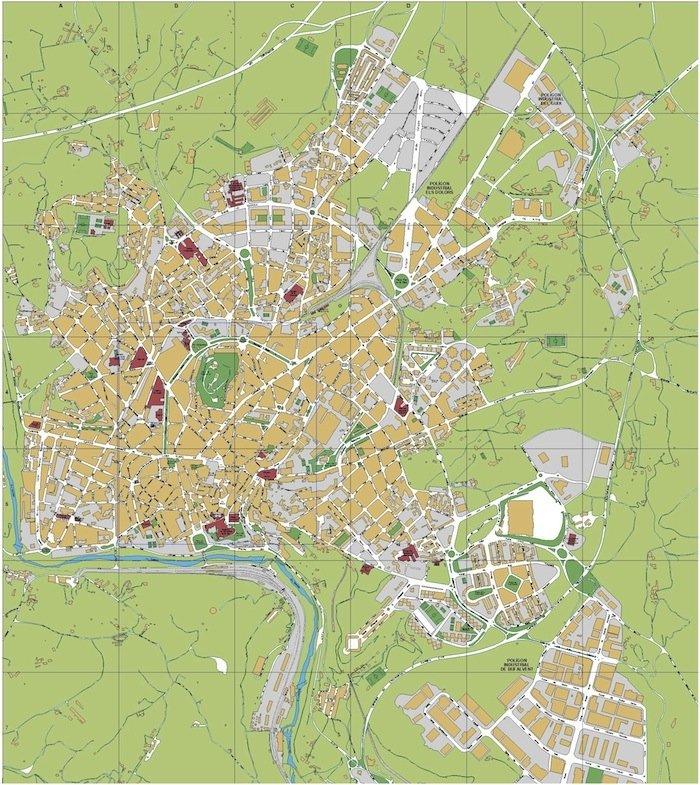 mapa manresa